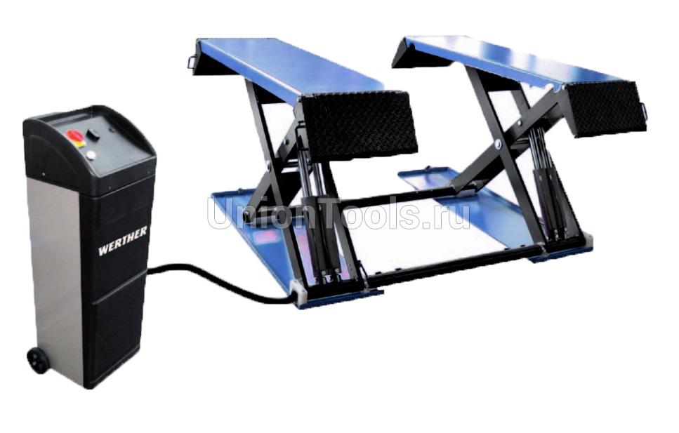 Подъемник ножничный, электрогидравлический, г/п 3000 кг