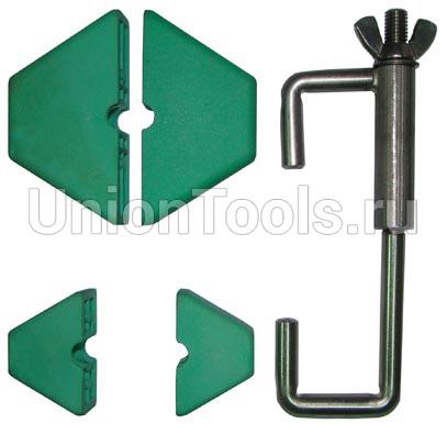Приспособление для фиксации шкивов двух/четырехвальных двигателей