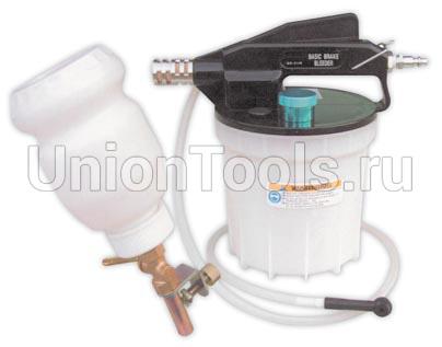 Приспособление пневматическое для замены тормозной жидкости с заливным бачком