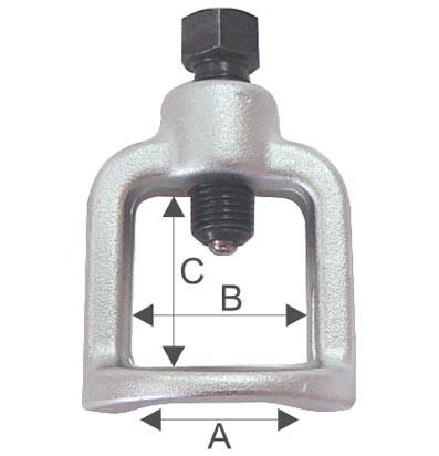 Съемник шаровых соединений
