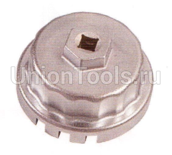 Съёмник масляных фильтров торцевой. 64.5 мм, 14 гр