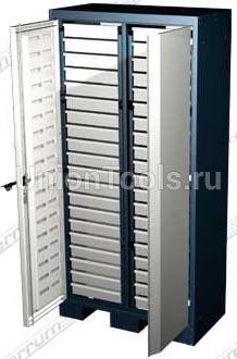 Шкаф для оснастки и инструмента, 40 выдвижных ящиков.
