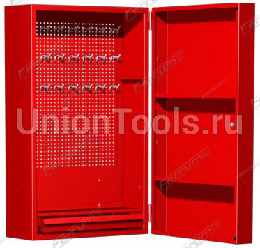 Шкаф настенный серии «Стандарт». Цвета: синий, красный, серый, зелёный.