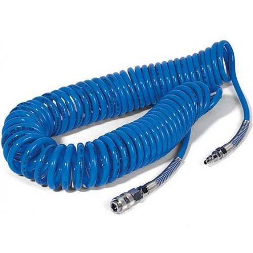 Шланг полиуретановый спиральный 8х12мм, 10м