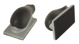 Шлифблок с пылеотводом, 70х125 мм, 13 отверстий