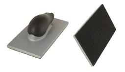 Шлифблок с пылеотводом, 115х230 мм, 36 отверстий