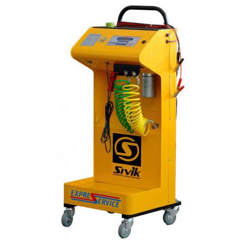 Автоматическая 1-контурная установка для диагностики и промывки элементов топливных систем