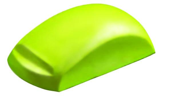 Шлифблок с липучкой, 80х150 мм