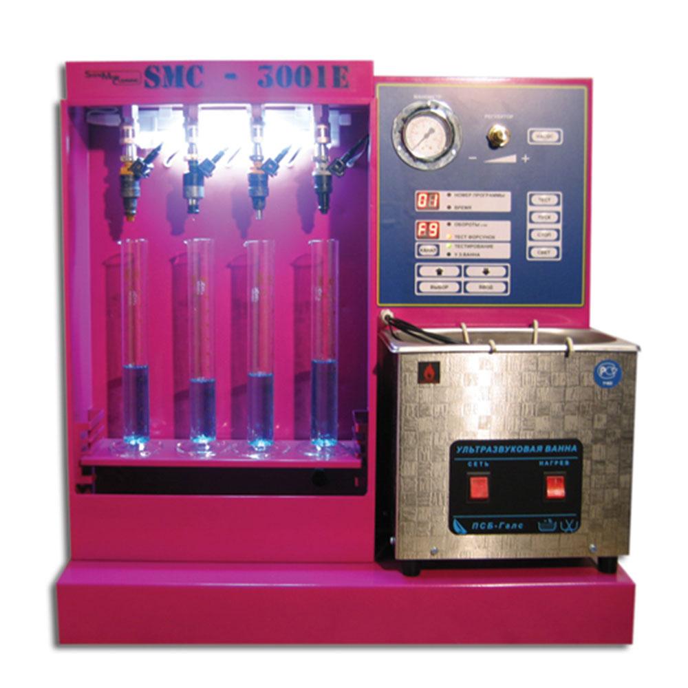 Стенды серии SMC-3001 для тестирования и ультразвуковой очистки  форсунок бензиновых двигателей