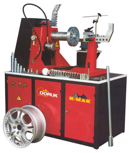 Стенд для реставрации дисков, диаметром от 10 до 28 дюймов