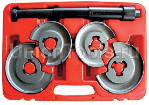Стяжка пружин центральная с коваными дисковыми держателями