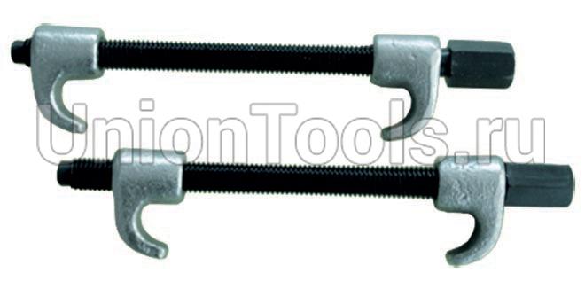 Стяжка пружин одинарный крюк 300 мм.