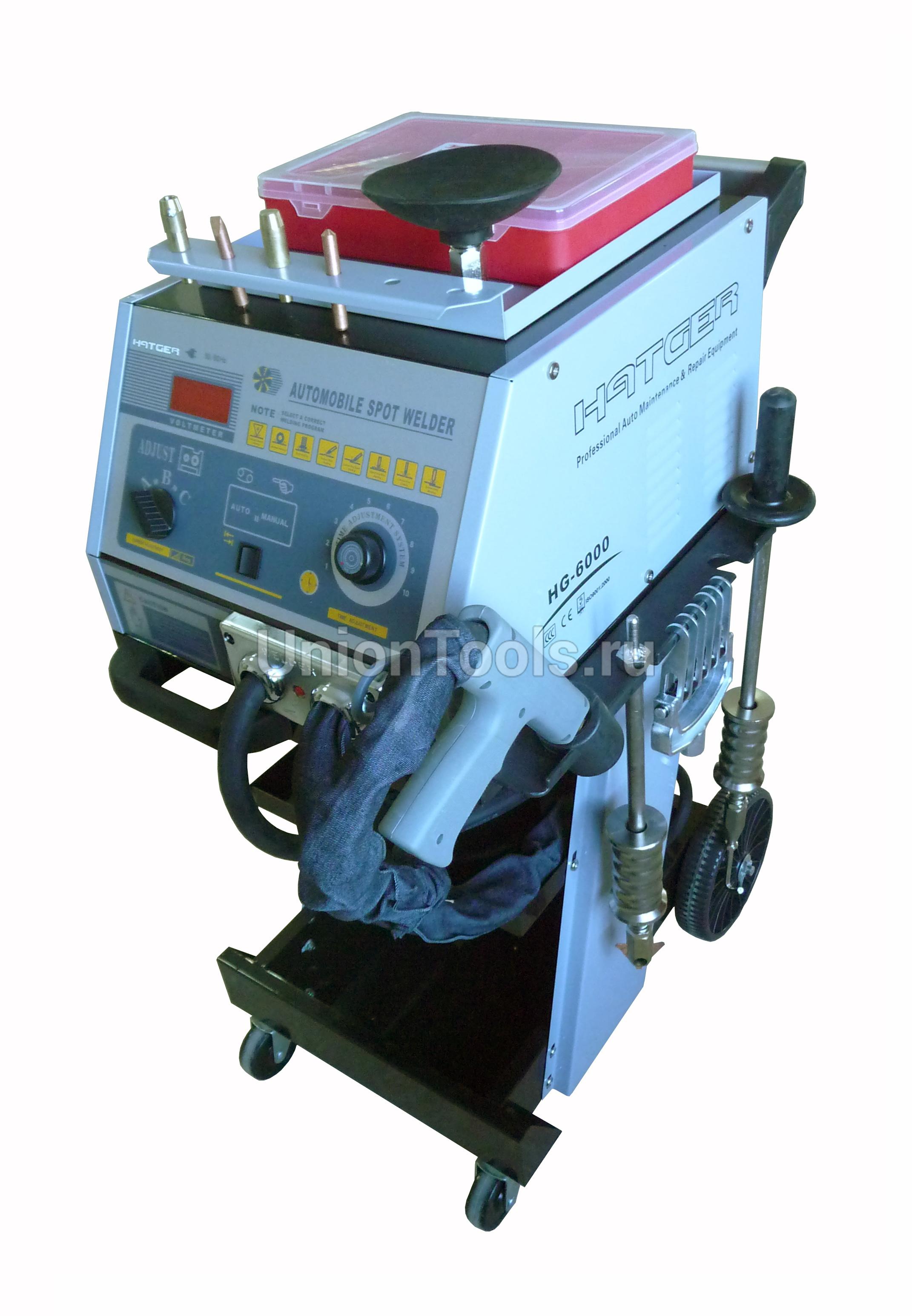 Однофазный электронный сварочный аппарат точечной сварки HG-6000