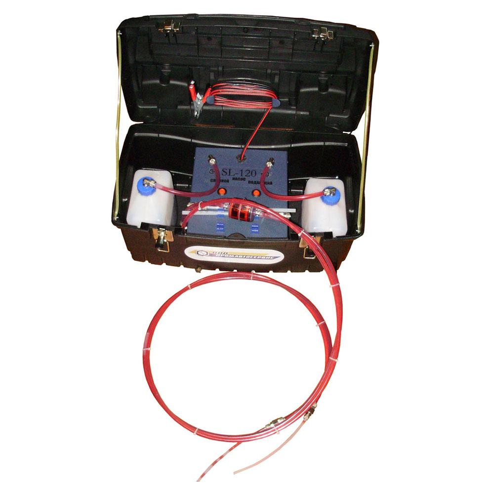 Автоматическая установка для экспресс-замены жидкости в системе гидроусилителя руля (ГУР)