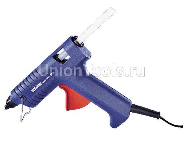 Термоклеевой пистолет GLUEMATIC 3002 с кейсом