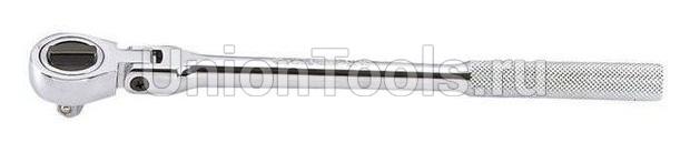 Трещотка шарнирная с дисковым переключателем 32 зубца 3/8