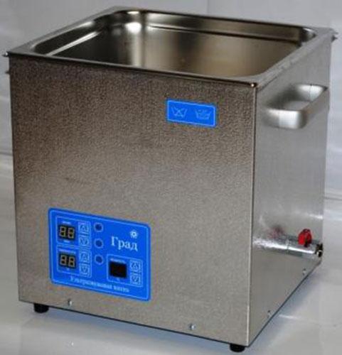 Ультразвуковая ванна объемом 18,0 литров с подогревом моющей жидкости и цифровым управлением