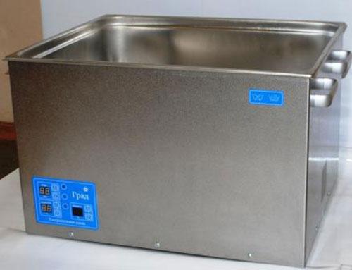 Ультразвуковая ванна объемом 44,0 литра с подогревом моющей жидкости и цифровым управлением