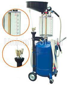 Установка для слива отработанного масла со сливной воронкой и предкамерой 65л