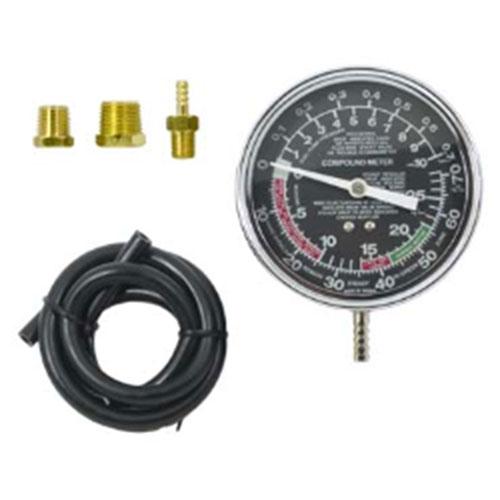 Вакуумметр для измерения разряжения во впускном коллекторе двигателя и вакуумных магистралях