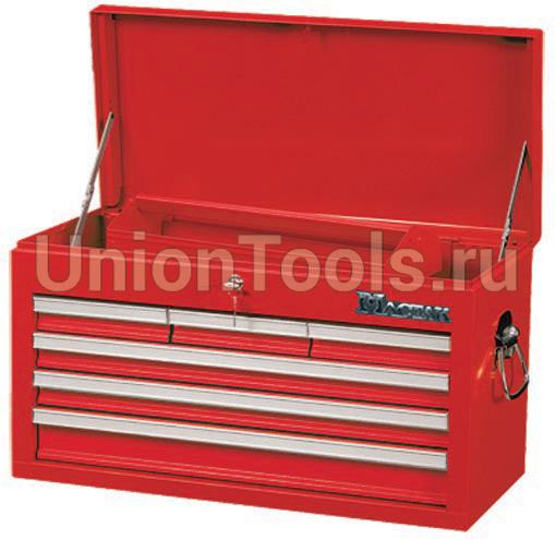 Ящик для инструментов, 6 выдвижных полок