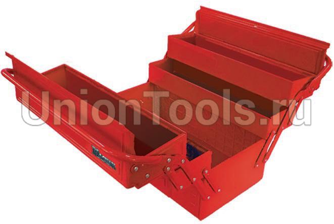 Ящик для инструментов раскладной, 5 отсеков
